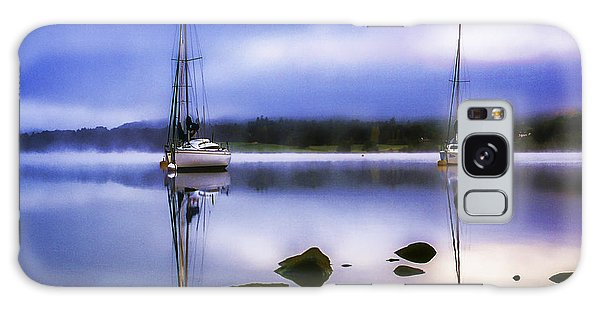 Boats On Ullswater Galaxy Case