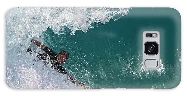 Bodysurfing Galaxy Case