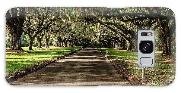 Boone Plantation Road Galaxy Case by John Johnson