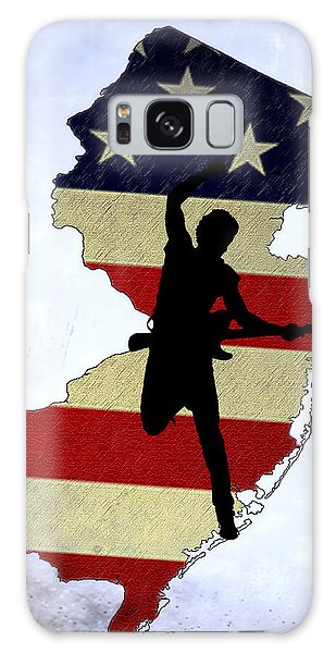 Bruce Springsteen Galaxy S8 Case - Born In New Jersey by Bill Cannon