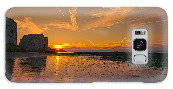 Botany Bay Sunset Galaxy Case