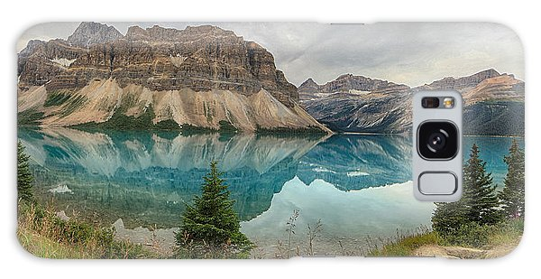 Bow Lake Banff National Park Galaxy Case