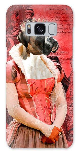 Boxer Art Canvas Print Galaxy Case