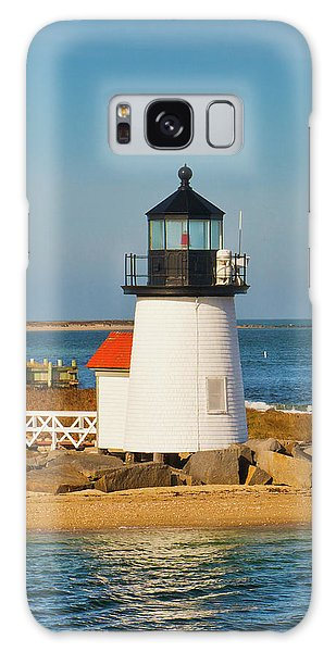 Brant Point Lighthouse Nantucket Galaxy Case