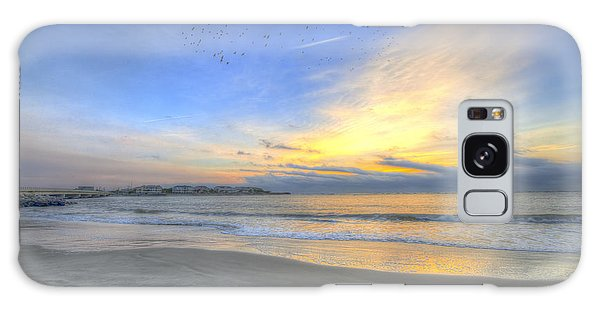 Breach Inlet Sunrise Galaxy Case