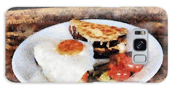 Breakfast Galaxy Case by Yury Bashkin