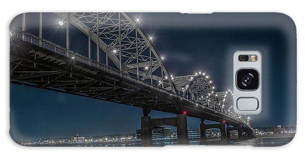 Bridge Lights Galaxy Case by Ray Congrove
