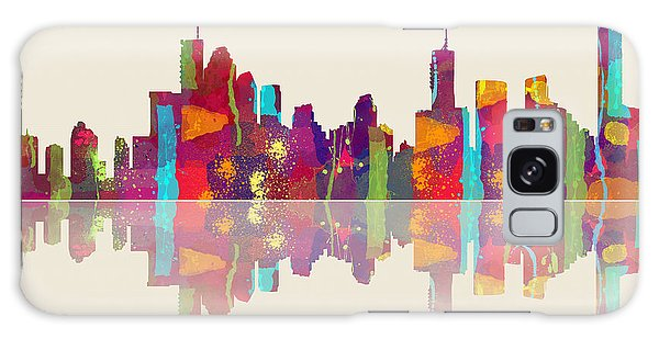 Brisbane Australia Skyline Galaxy Case
