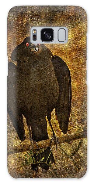 Bronzed Cowbird Galaxy Case