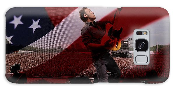 Bruce Springsteen Galaxy Case by Marvin Blaine