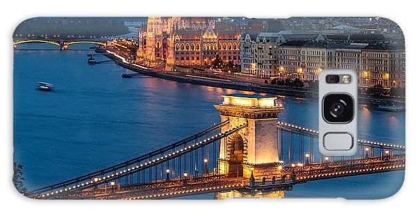 Travel Galaxy Case - Budapest by Thomas D M??rkeberg