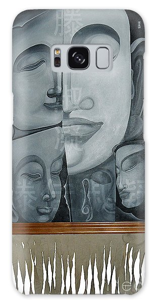 Buddish Facial Reactions Galaxy Case