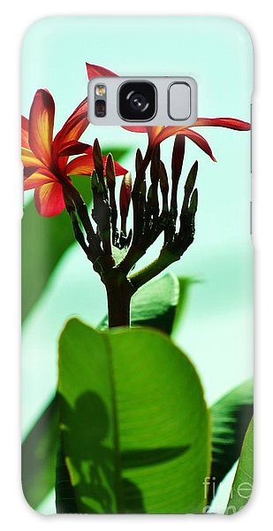 Buds And Blossoms Galaxy Case by Craig Wood