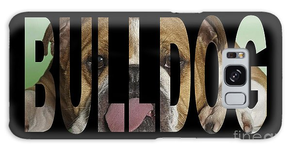 Bulldog Galaxy Case by Marvin Blaine