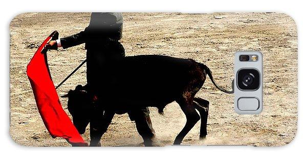 Bullfighter In Training Galaxy Case by Carlee Ojeda