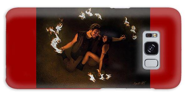 Burning Passion Galaxy Case