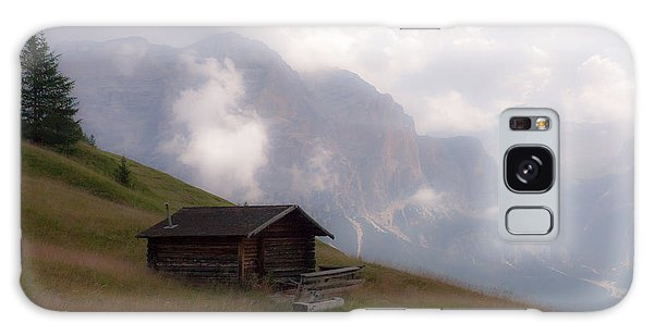 Cabin In The Dolomites Galaxy Case
