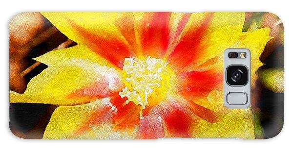 Cactus Flower Wc Galaxy Case