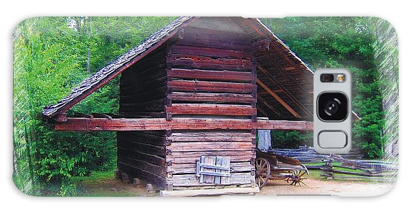 Cades Cove Outbuilding Galaxy Case