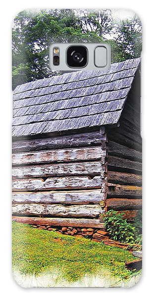 Cades Cove Shed Galaxy Case