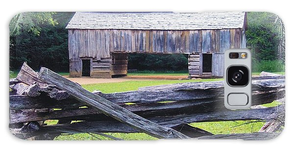 Cades Cove Split Rail And Outbuilding Galaxy Case