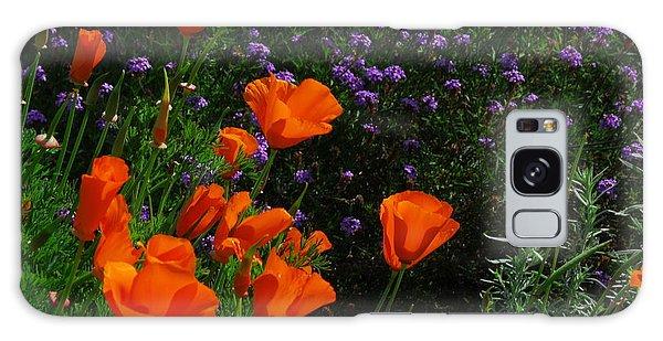 California Poppies Galaxy Case by Lynn Bauer
