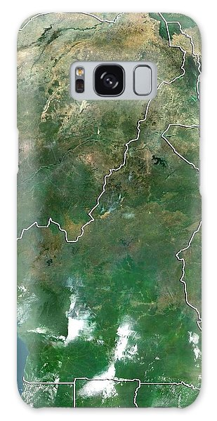 Nigeria Galaxy Case - Cameroon by Planetobserver/science Photo Library