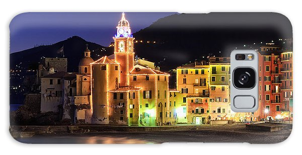 Camogli At Evening Galaxy Case