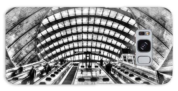Canary Wharf Station Galaxy Case by David Pyatt