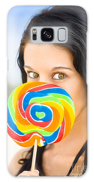 Vivacious Galaxy Case - Candy Craze by Jorgo Photography - Wall Art Gallery
