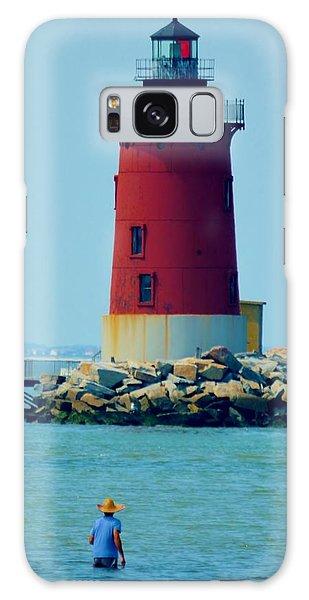 Cape Henlopen Lighthouse Galaxy Case