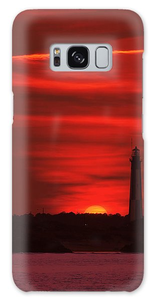 Cape Henry Lighthouses  Galaxy Case