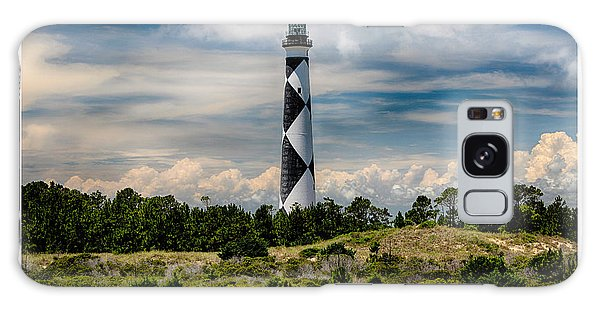 Cape Lookout Lighthouse Galaxy Case by Tony Cooper