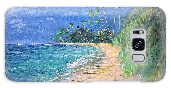 Caribbean Landscape Galaxy Case