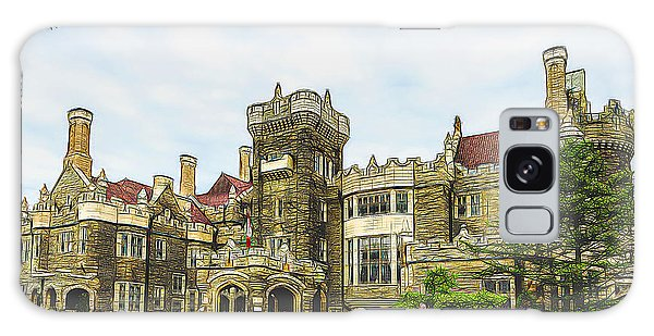 Casa Loma In Toronto Galaxy Case