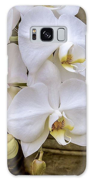 Cascade Of White Orchids Galaxy Case