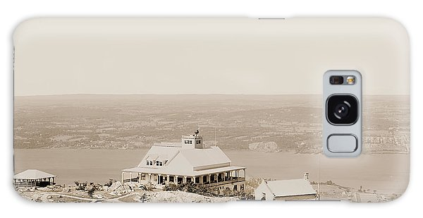 Casino At The Top Of Mt Beacon In Sepia Tone Galaxy Case