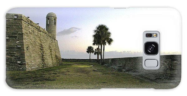 Castillo De San Marcos View 2 Galaxy Case