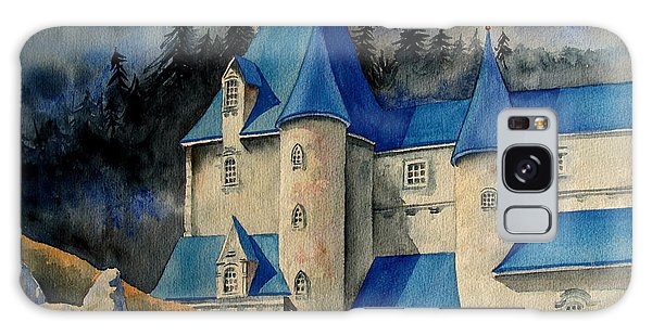 Castle In The Black Forest Galaxy Case by Ranjini Kandasamy