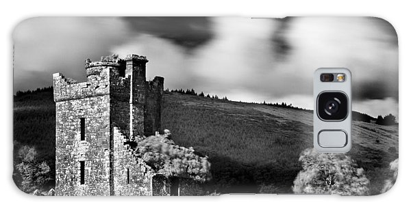 Galaxy Case featuring the photograph Castle Ruins / Ireland by Barry O Carroll