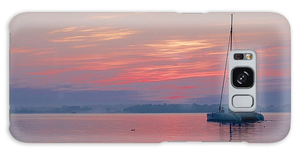 Catamaran At Dawn Galaxy Case