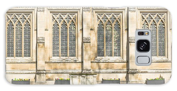 Bury St Edmunds Galaxy Case - Cathedral Architecture by Tom Gowanlock