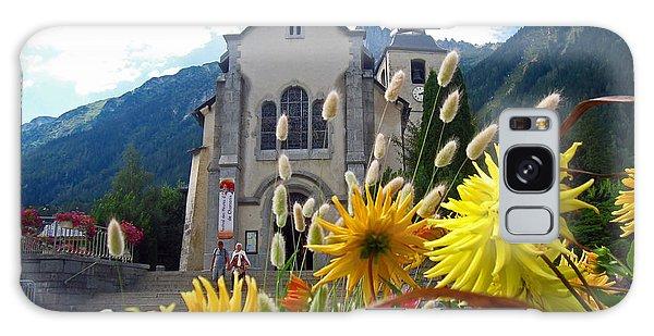 Buy Art Online Galaxy Case - Chamonix Church by Alexandros Daskalakis