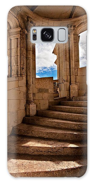 Galaxy Case featuring the photograph Chateau De Blois Staircase / Loire Valley by Barry O Carroll