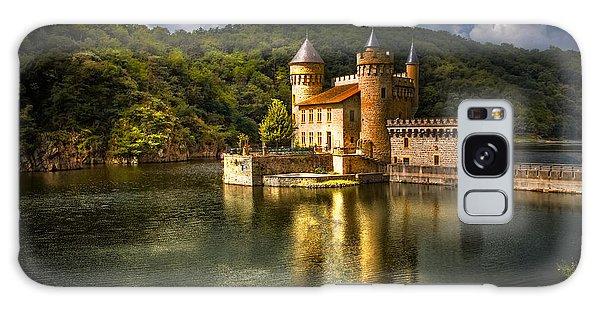 Chateau De La Roche Galaxy Case by Debra and Dave Vanderlaan