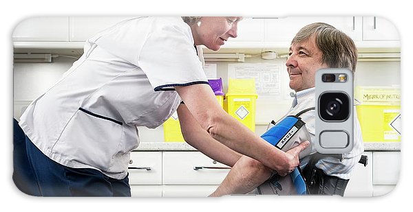 Patient Galaxy Case - Check Up With Disabled Man by Jim Varney