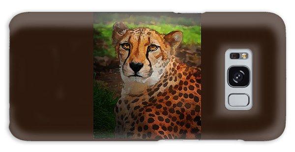 Cheetah Mama Galaxy Case