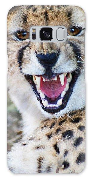 Cheetah With Attitude Galaxy Case by Stanza Widen