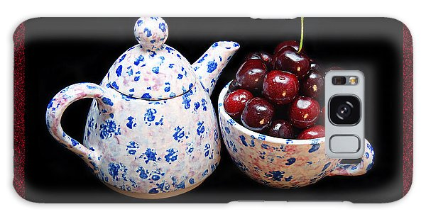 Cherries Invited To Tea 2 Galaxy Case