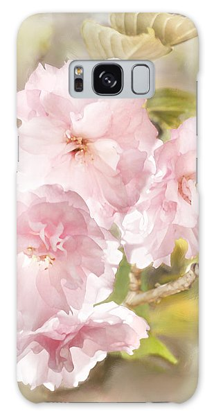 Cherry Blossoms Galaxy Case by Francesa Miller